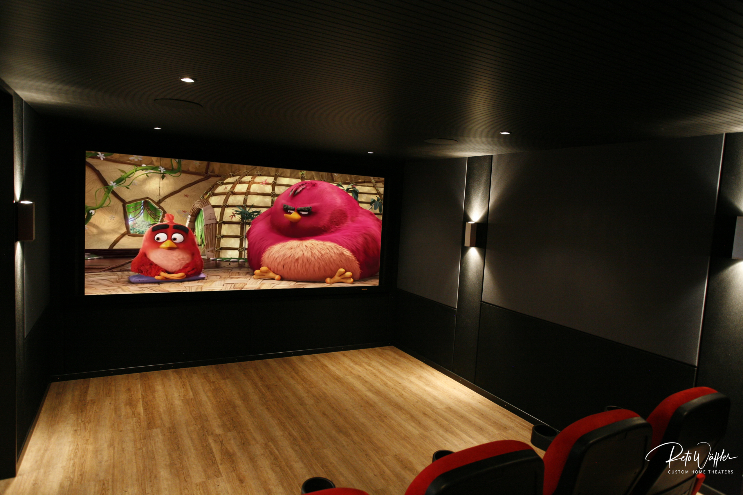 Cinema Black Wall